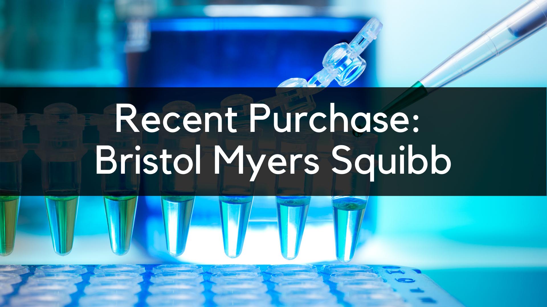 Bristol Myers Squibb Stock Analysis