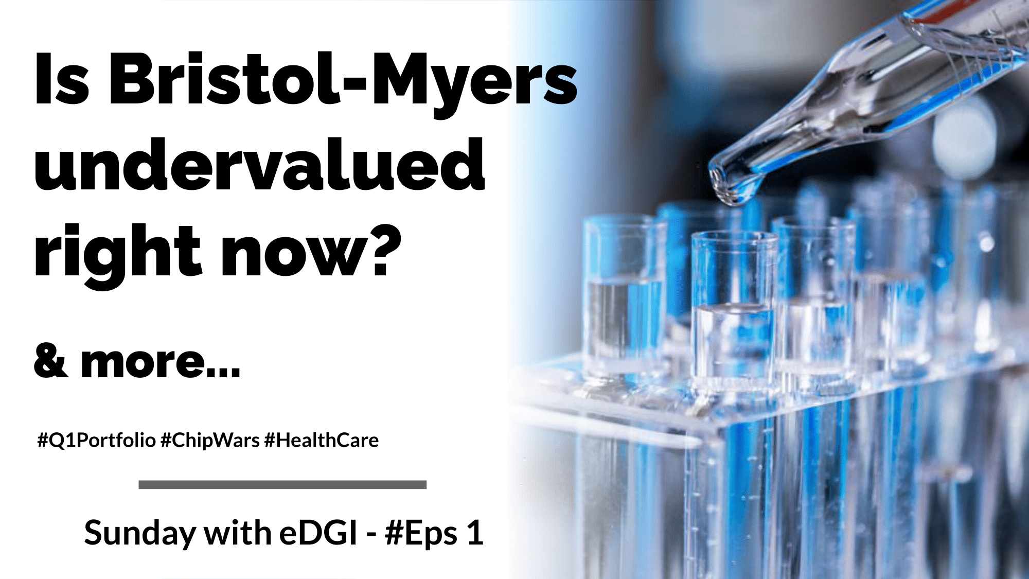 Is Bristol Myers undervalued right now?