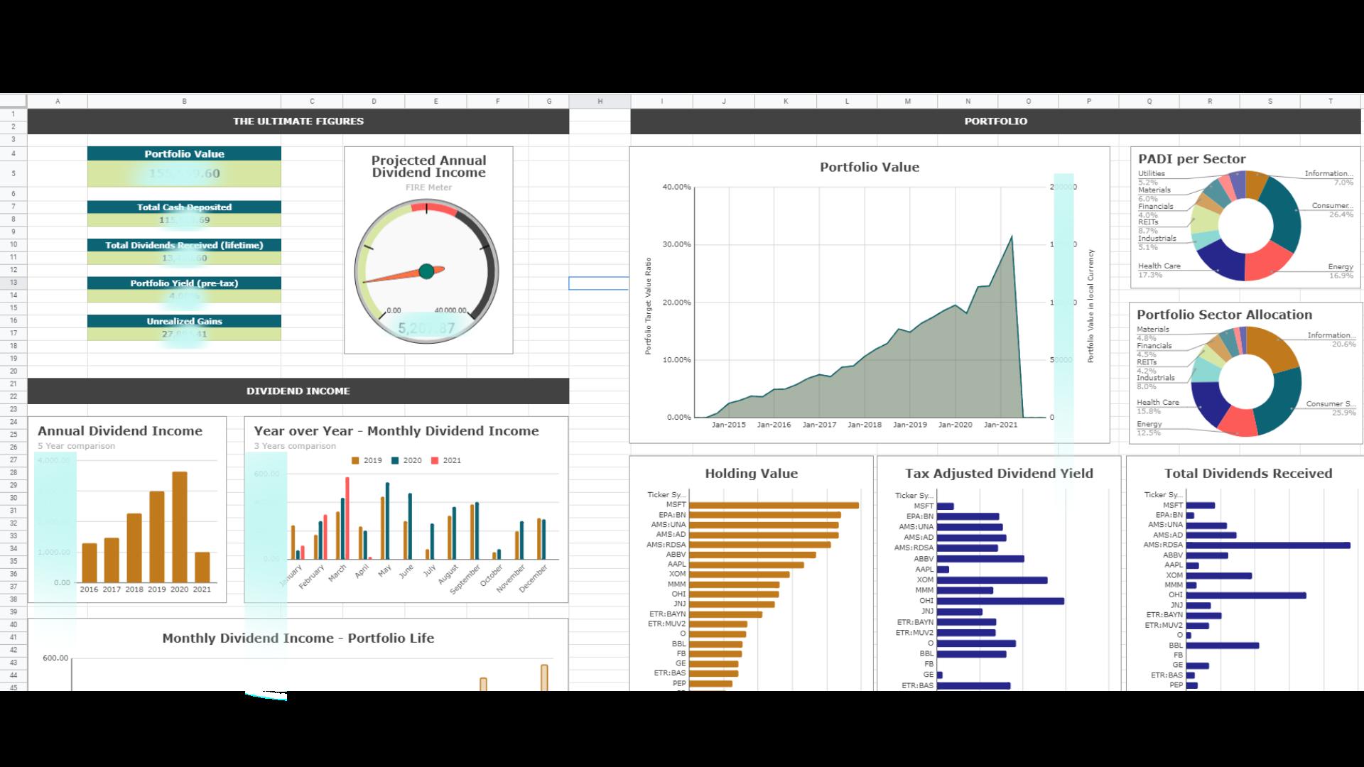 Dividend Portfolio Tracker