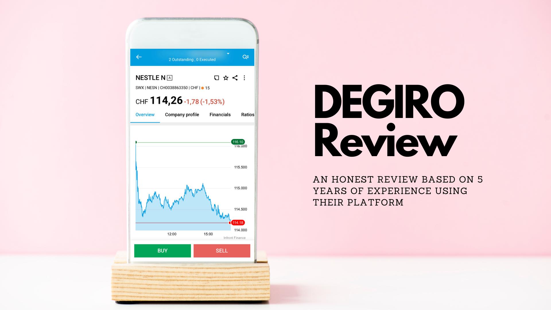 DEGIRO Review 2021